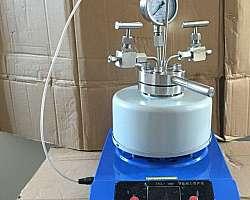 Reator autoclave laboratório