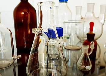 Vidraria laboratório