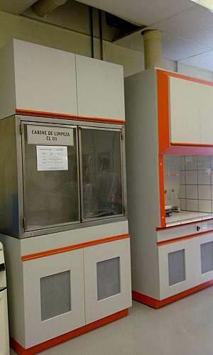 Capela laboratório de química