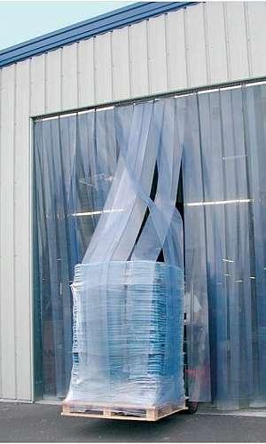 Cortina de PVC para laboratórios