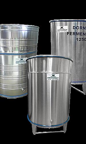 Dornas para fermentação em Aço Inox