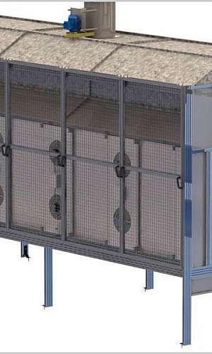Estufa para secagem industrial