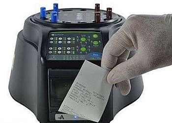 Incubadora para teste biológico de autoclave