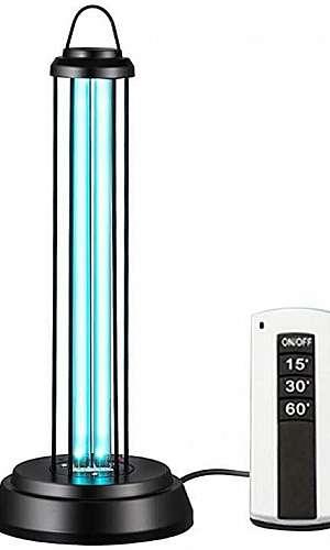 Lâmpadas UV para esterilização