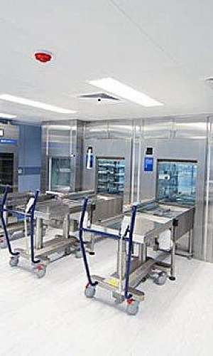 Manutenção gerador autoclave