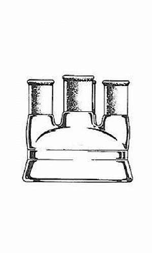 Reator de vidro para laboratório